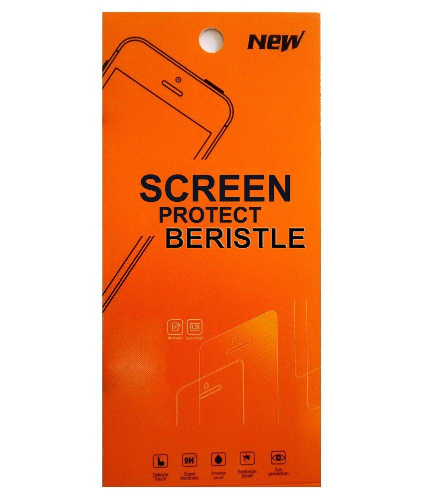 Bristle Tempered Glass Screen Guard For Samsung Galaxy S4 I9500