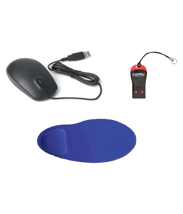Dell MS111 USB Mouse Black