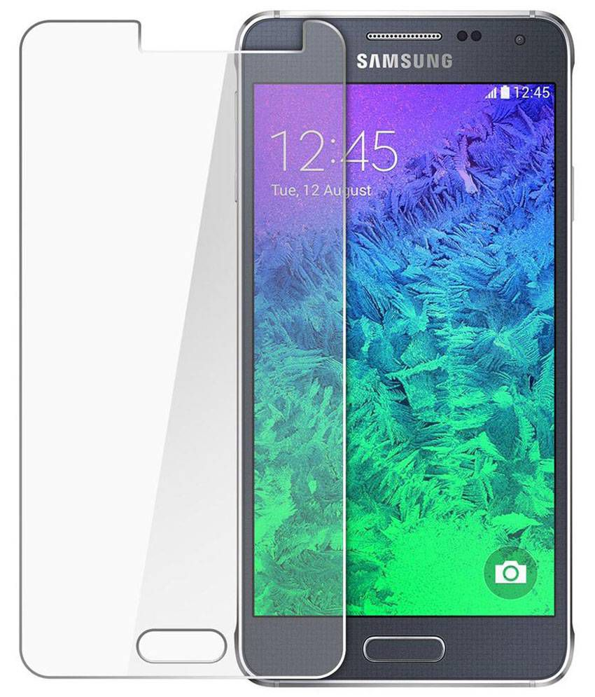 Samsung G850 Alpha Tempered Glass Screen Guard by QAWACHH