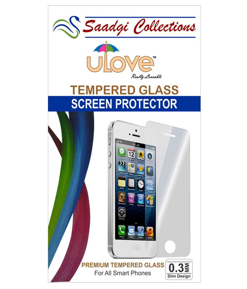 Motorola Moto X Play Tempered Glass Screen Guard by Saadgi Collections