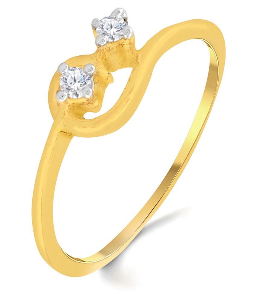 Sri Jagdamba Pearls 18Kt Gold Diamond Ring