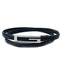 Contra Black Casual Belt