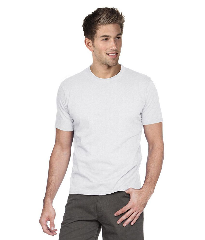 Jbs Office Solutions White Cotton Blend T - Shirt