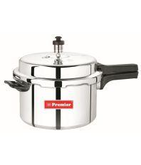 Premier Silver Aluminium 3 Litres Pressure Cooker