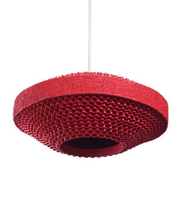 Flying Saucer Pink Hanging Lamp Buy Flying Saucer Pink Hanging Lamp At Best Price In India On