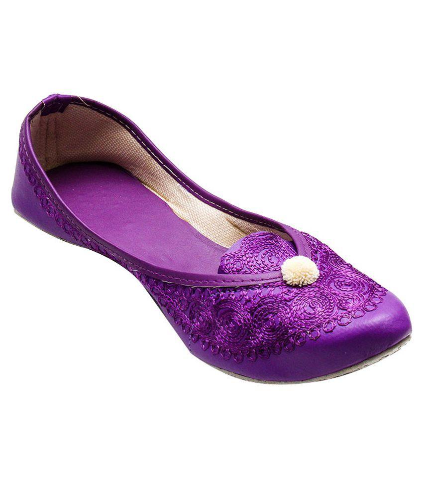 Port Purple Daily Wear Juttis