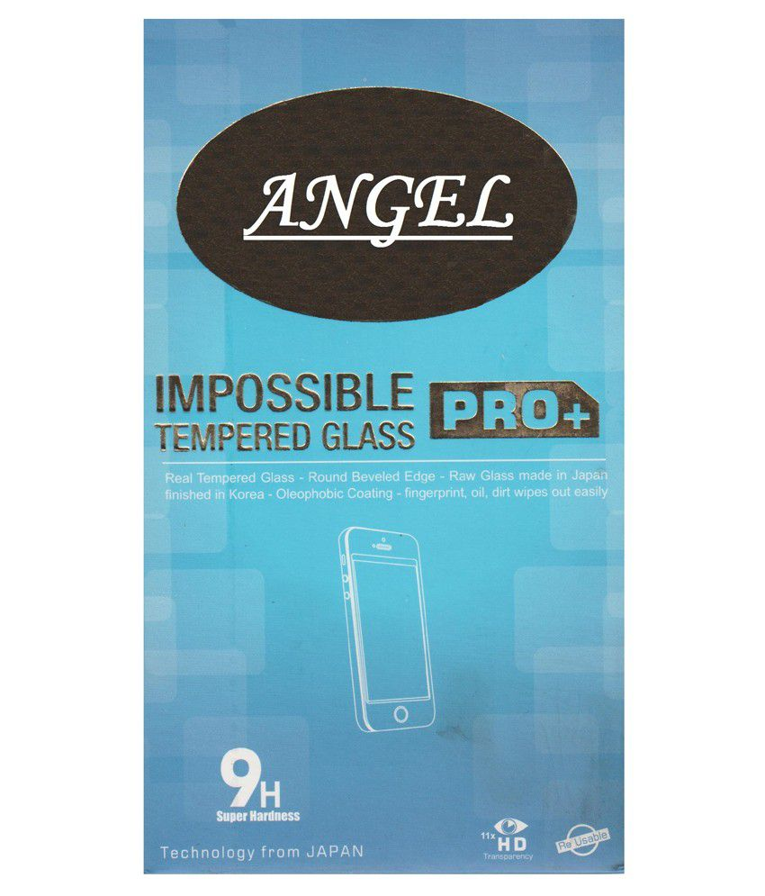 Angel Tempered Glass Screen Guard for Sony Xperia M
