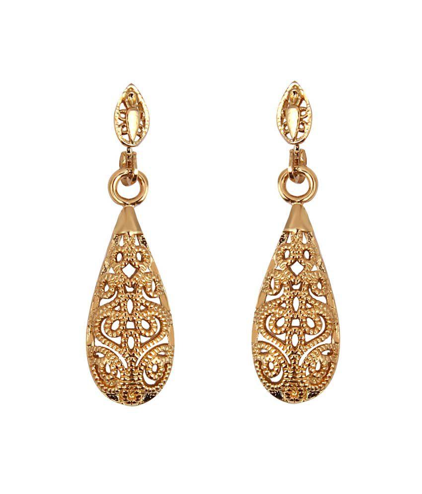JEWELIZER Silver Plated Austrian Crystal Stud Earrings