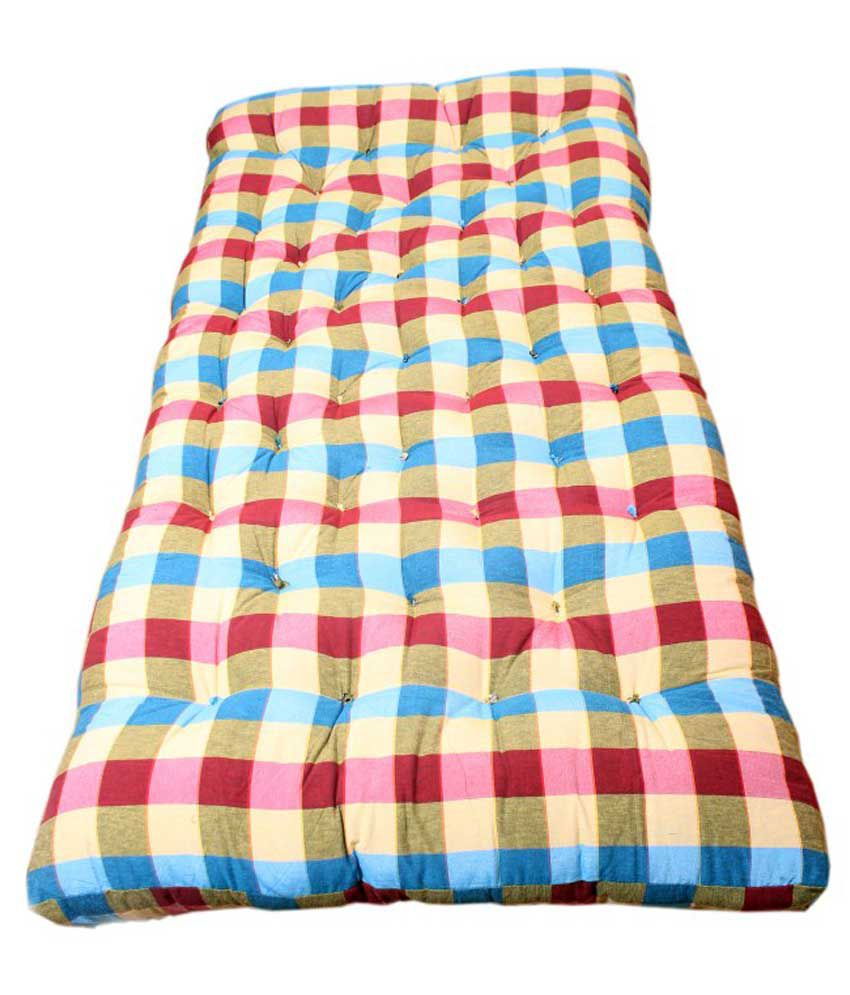 bajaj home furnishing cotton orthopedic mattress buy bajaj home