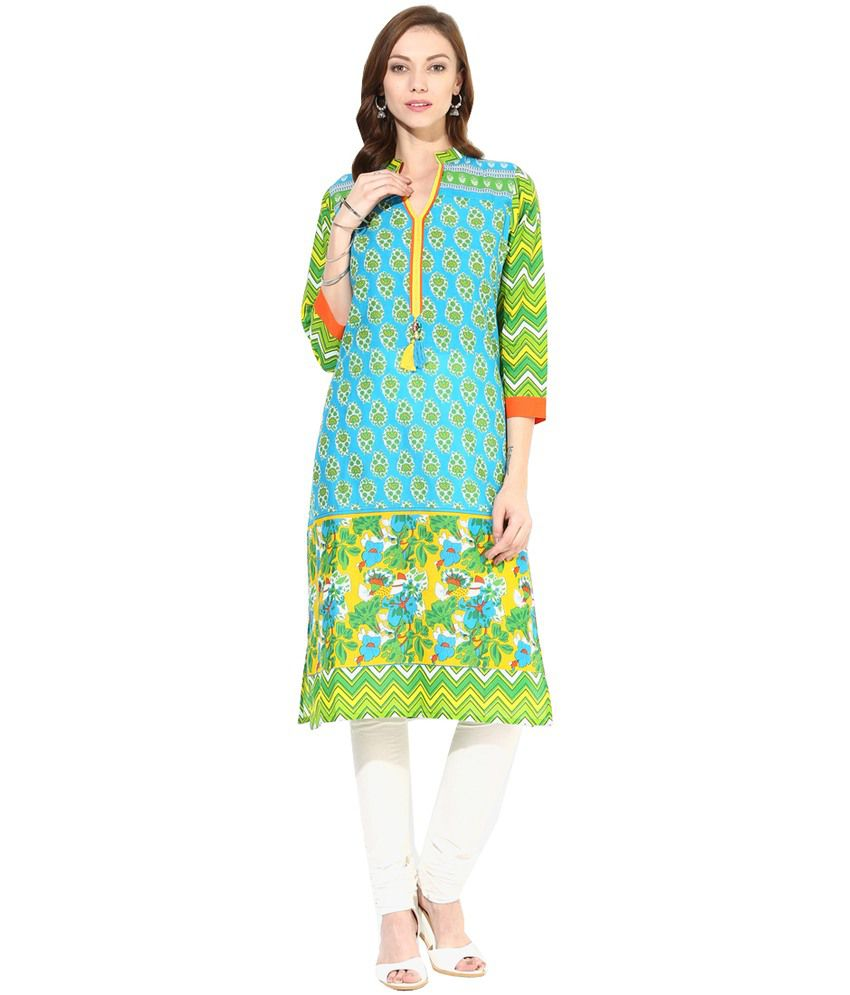 Shree Multi Cotton Kurti