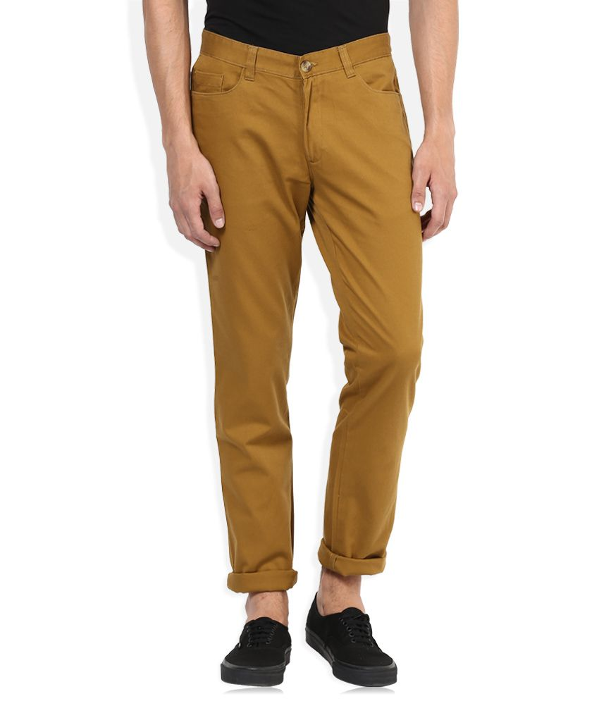 John Players Khaki Casual Trouser