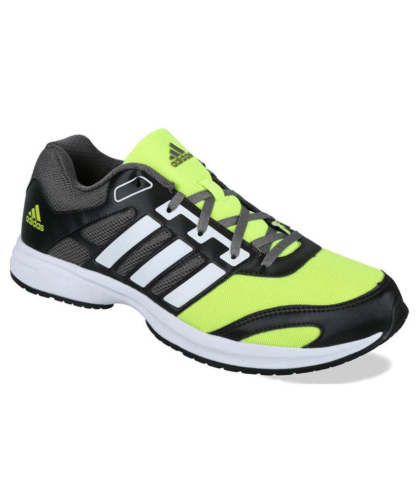Adidas Green and Black Running Sport Shoes