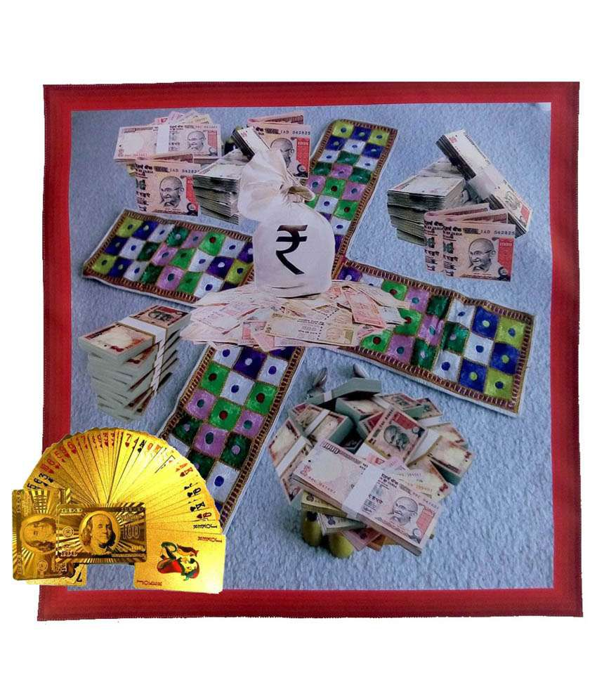 Alibaba Canvas PlatForm For Playing Card With Gold Foil Cards (Combo Set)