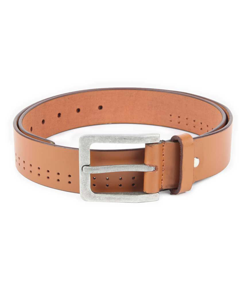 Chisel Tan Leather Casual Belt