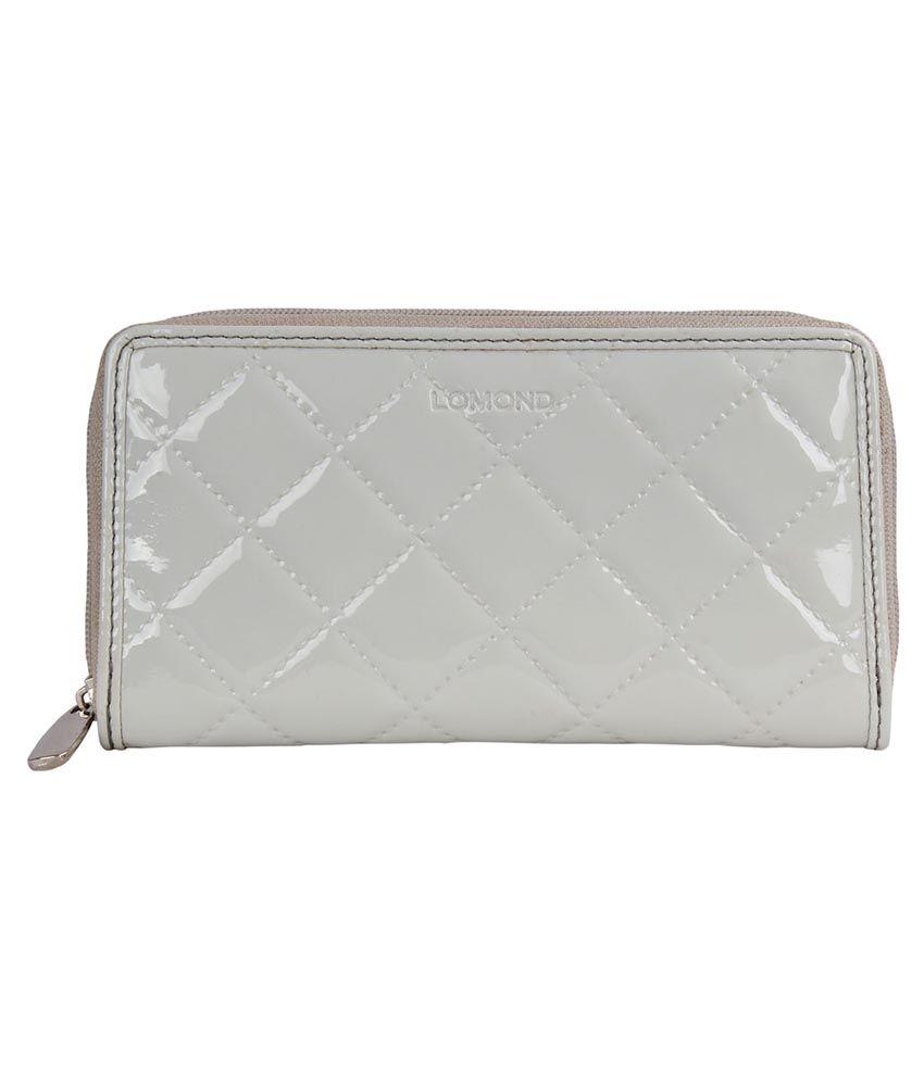 Lomond Gray Zip Around Wallet