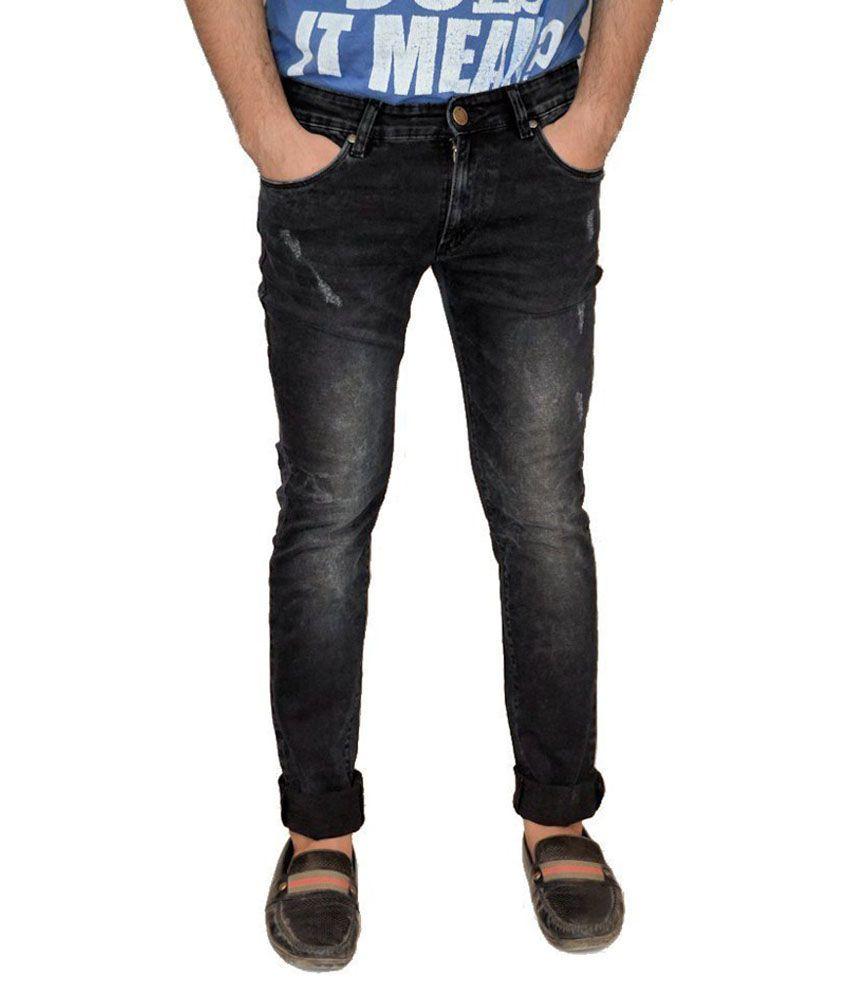 Evanz Originals Black Skinny Fit Jeans