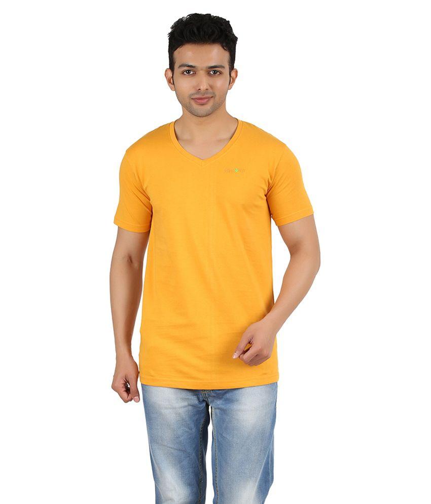 Gravity Plus Red Cotton T-Shirt