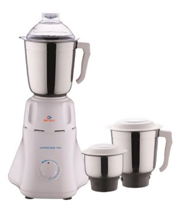 Bajaj Easy Mixer Grinder White