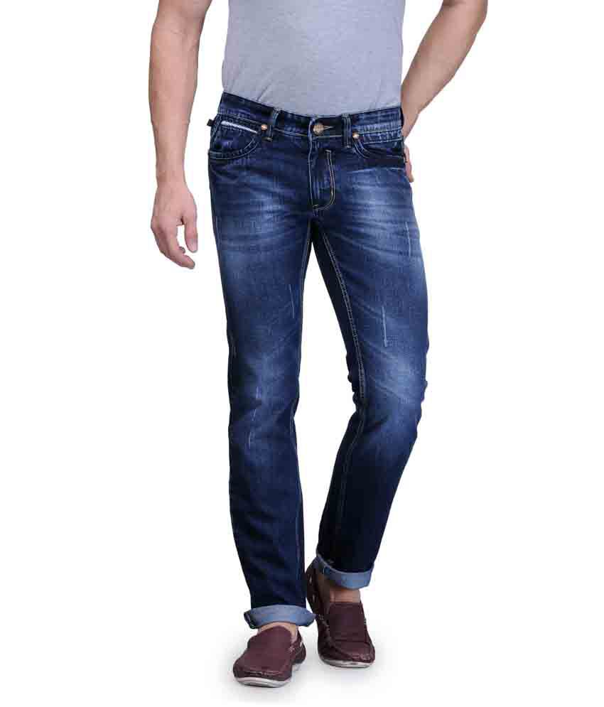 Canary London Blue Regular Fit Jeans