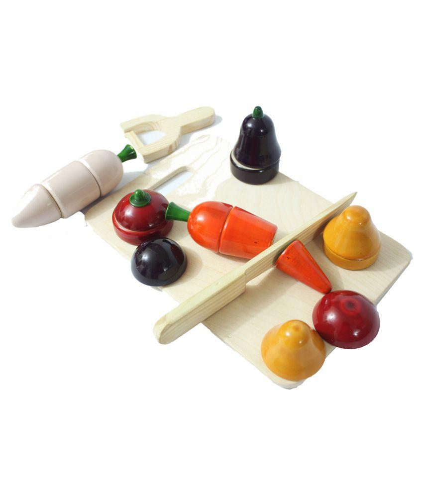Aatike Multicolour Wooden Toy