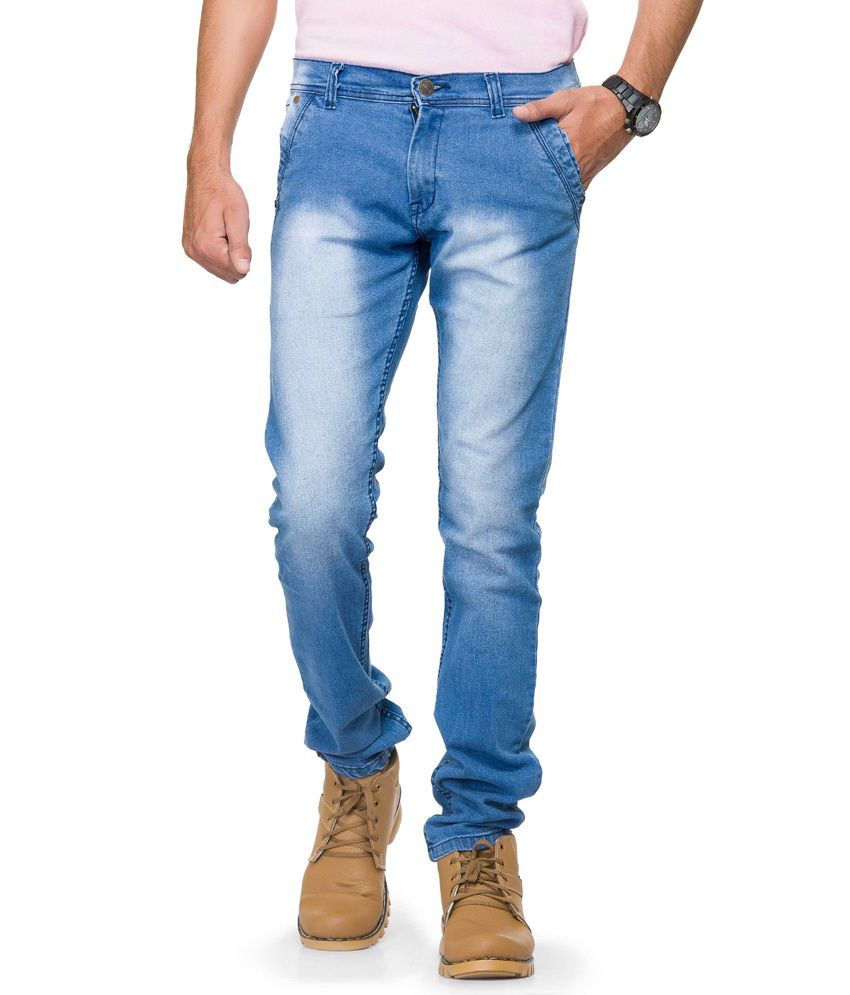 Gr8onyou Blue Slim Fit Jeans