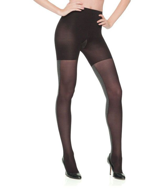 c9ba78d3d3a Impact Creators Black Nylon Sheer Stockings with Pantyhose  Buy Online at  Low Price in India - Snapdeal