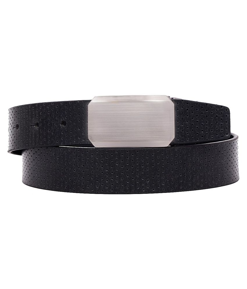 Ohm Leather Brown Formal Belt