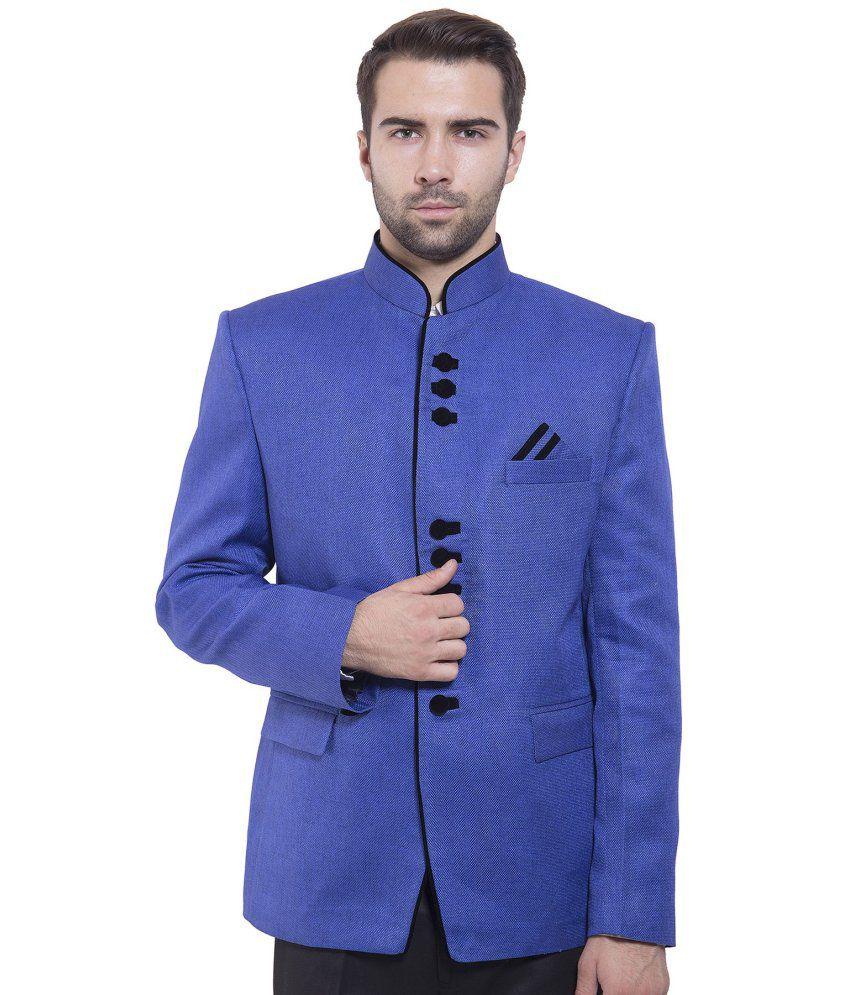 Wintage Blue festive Blazer