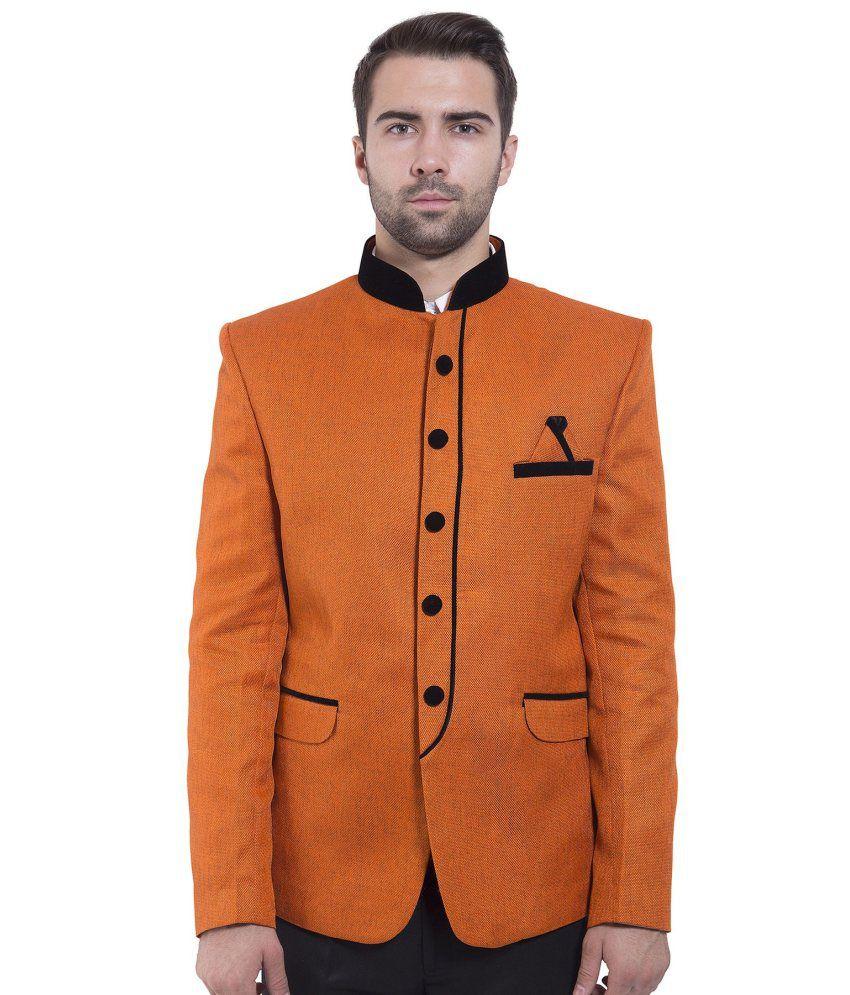 Wintage Orange festive Blazer