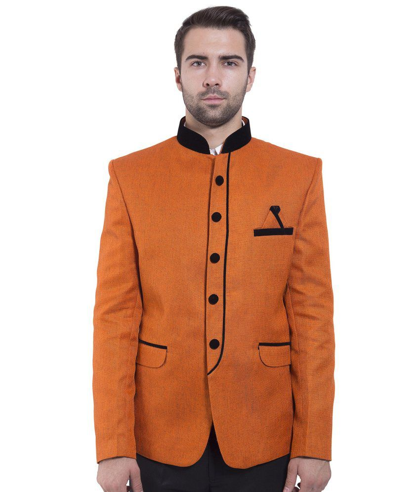 Wintage Orange festive Blazer