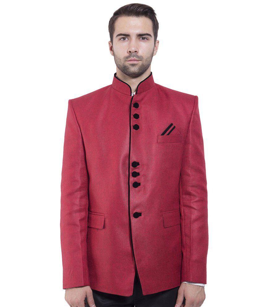 Wintage Red festive Blazer