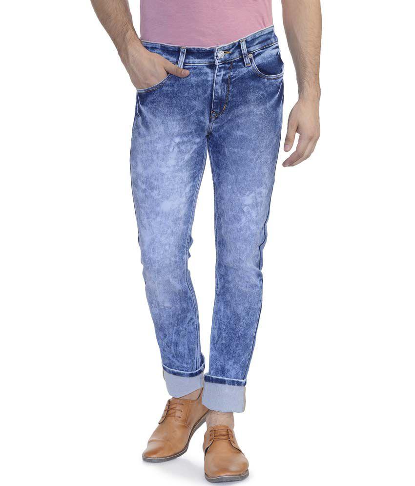 Scotchtree Blue Slim Fit Jeans