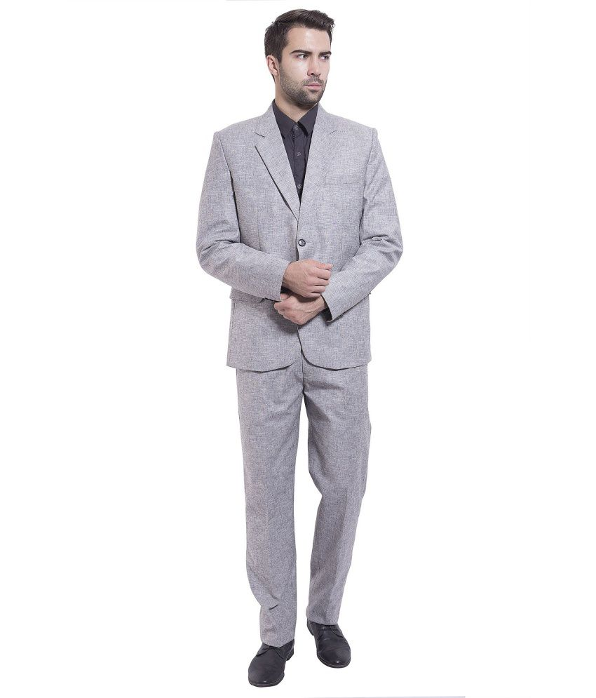 Wintage Grey Formal Suits