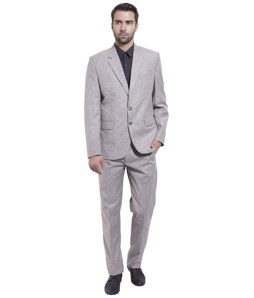 Wintage Silver Formal Suits