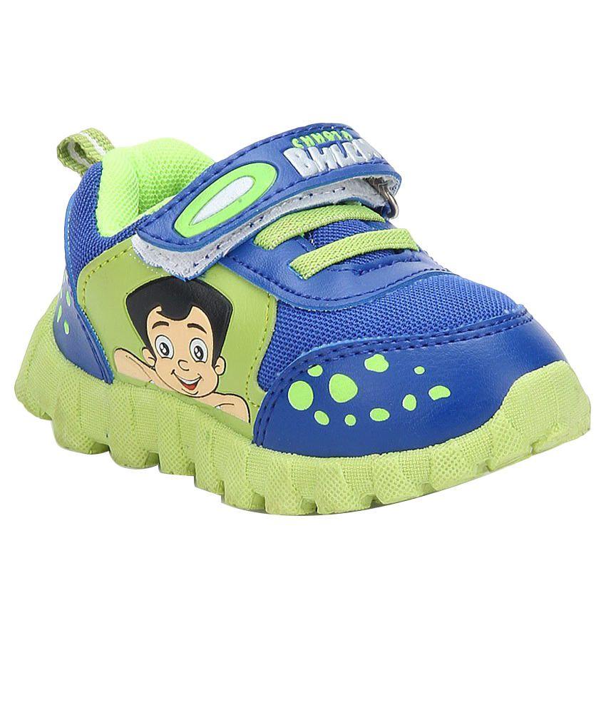 Chhota Bheem Smart Blue Casual Shoes