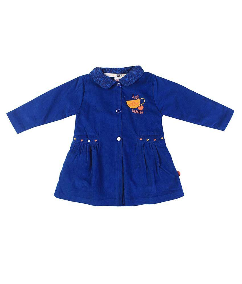 FS MiniKlub Blue Buttoned Jacket