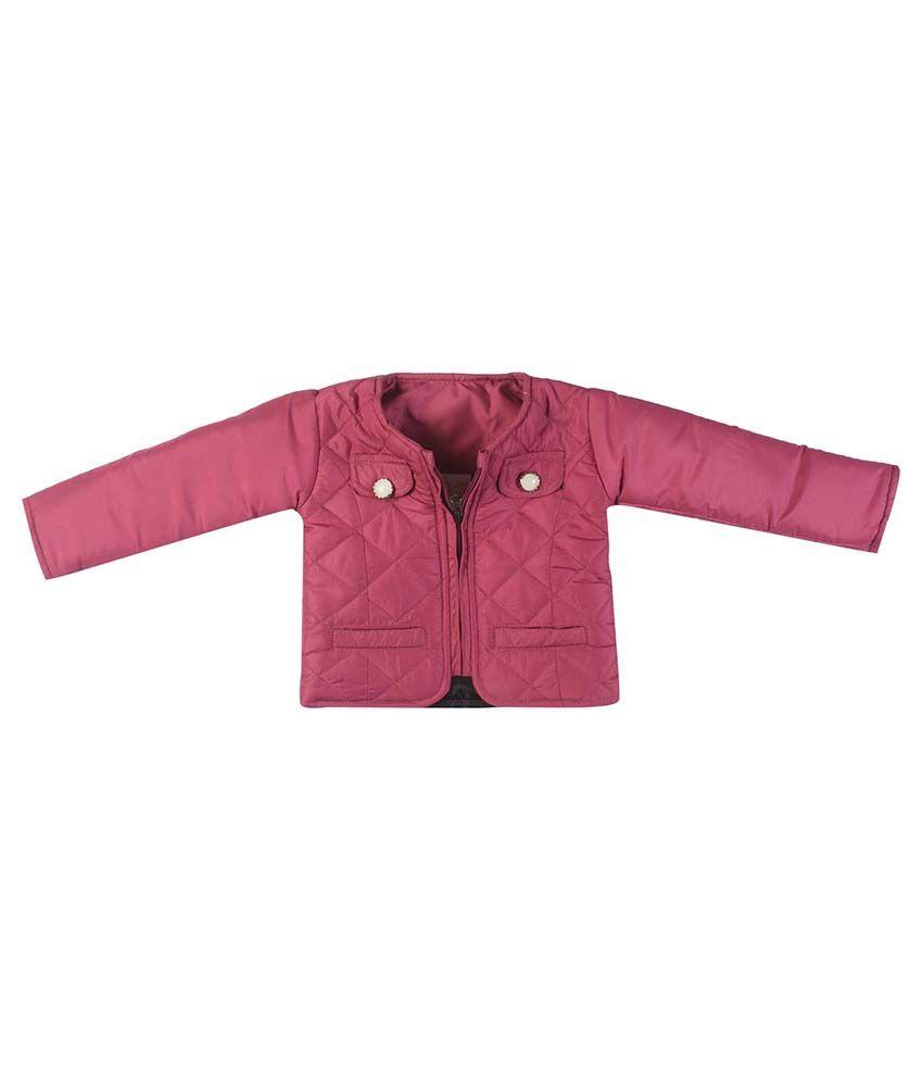 FS MiniKlub Mauve Nylon Quilted Jacket