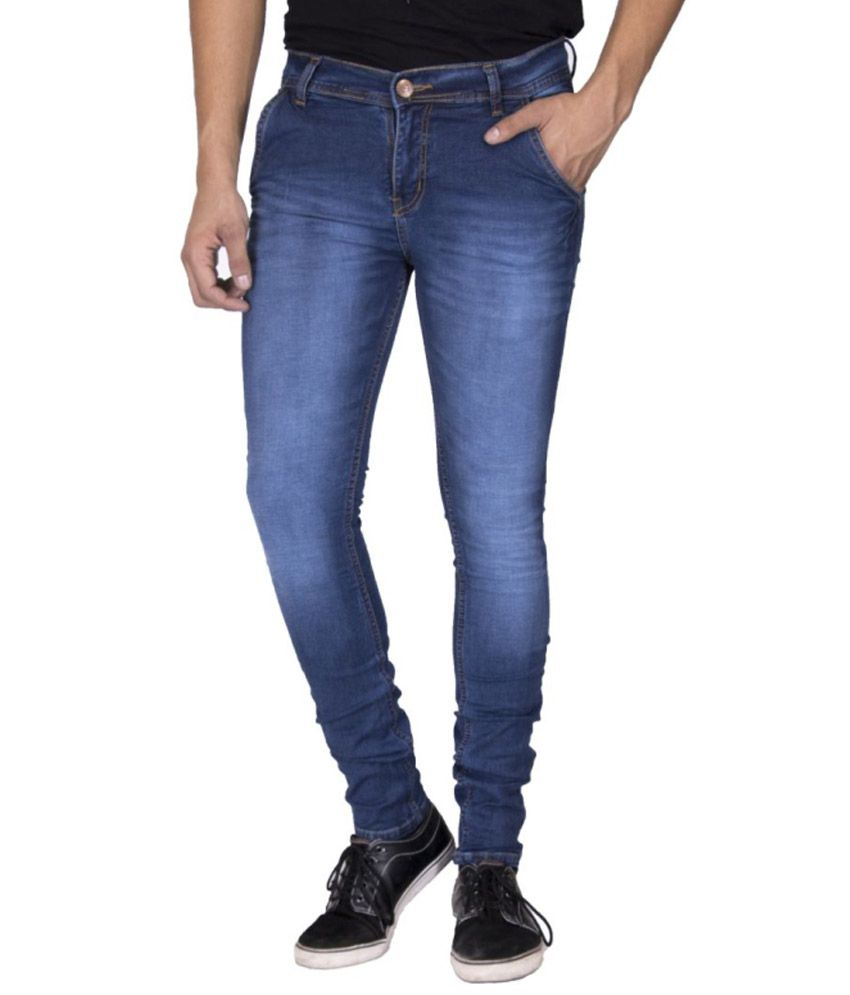 Option Blue Slim Fit Jeans