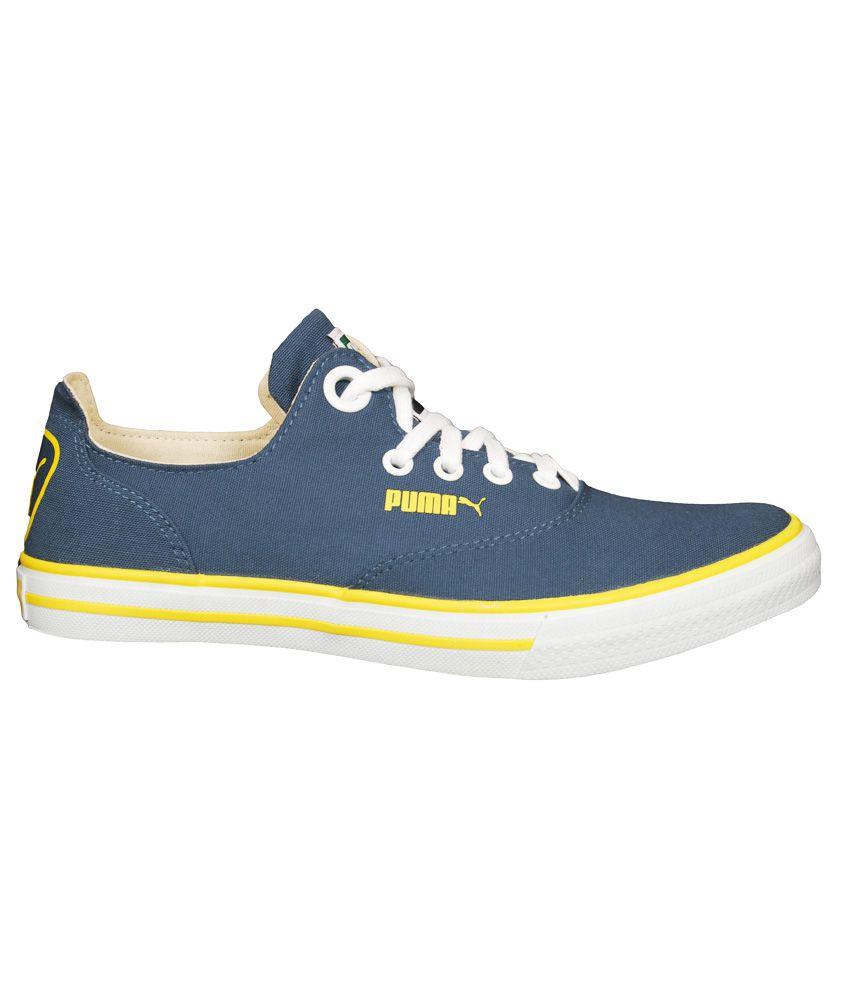 Puma Navy Canvas Shoes - Buy Puma Navy