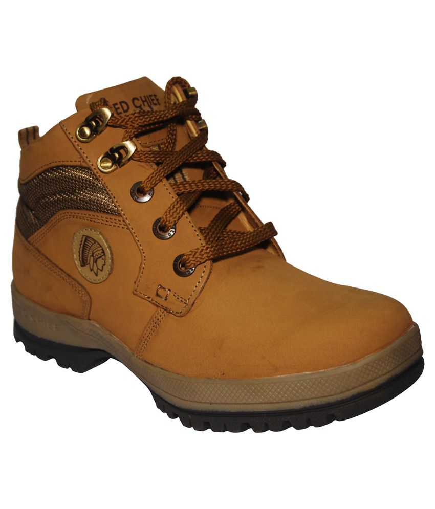 Red Chief Beige Boots