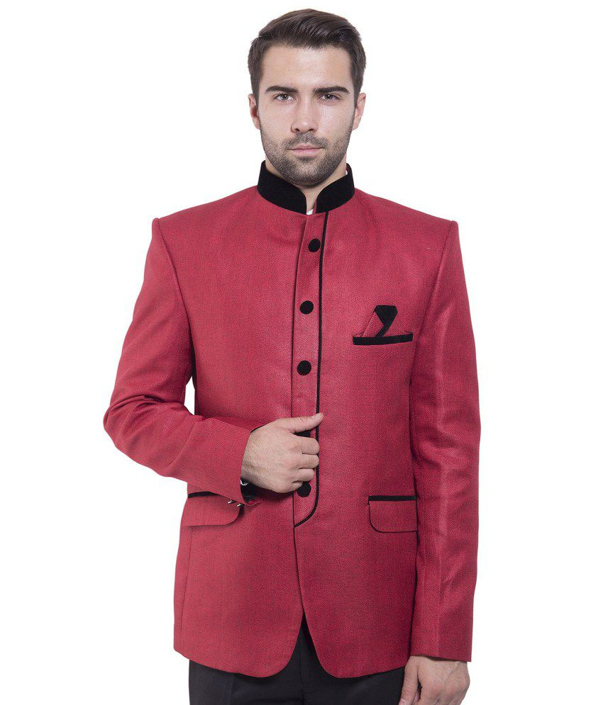 Wintage Red festive Blazer