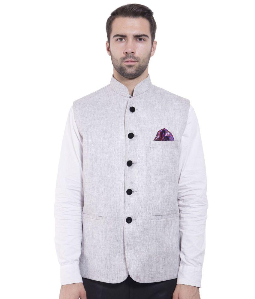 Wintage Silver festive Waistcoats
