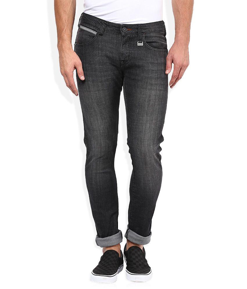 Wrangler Grey Skinny Fit Traveler Jeans