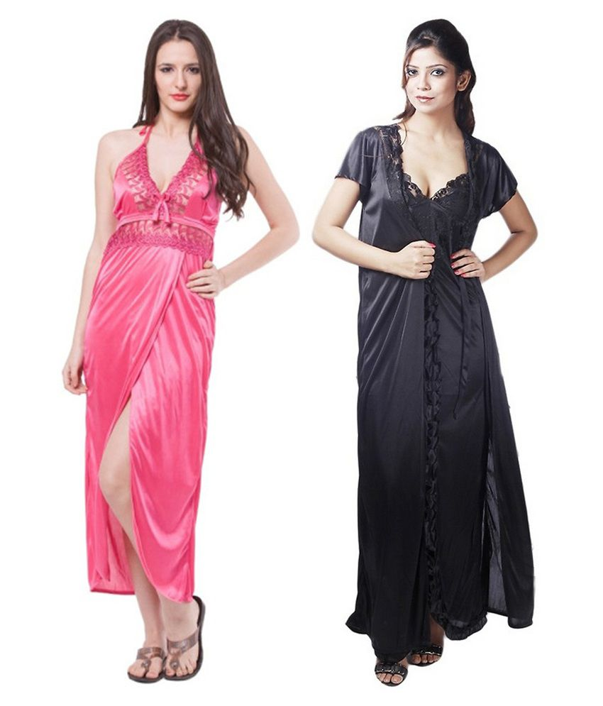 Buy Boosah Lace Nighty & Night Gowns Online at Best Prices in India ...