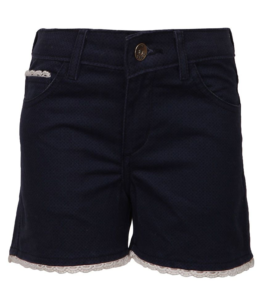 Bells & Whistles Blue Shorts