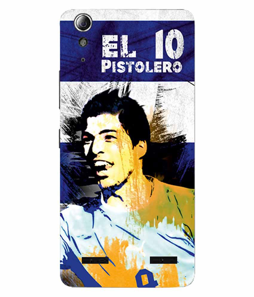 ezyPRNT  Skin Sticker  for Lenovo A6000/A6000 Plus Luiz Saurez 'EL pistolero'  Football Player