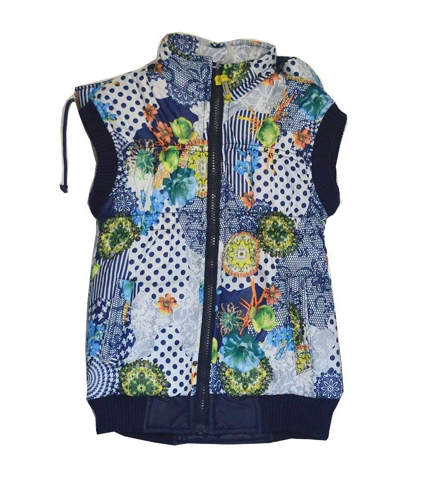 London Girl Floral Hooded Jacket