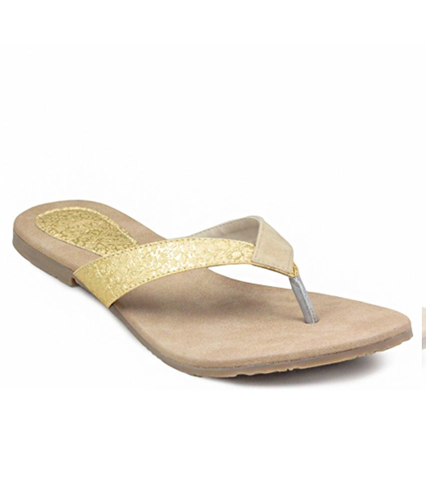Gaiety Golden Slip-Ons