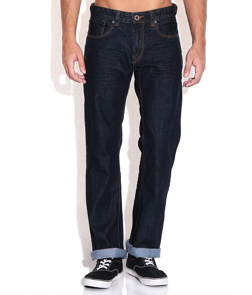 CAT Blue Regular Fit Jeans