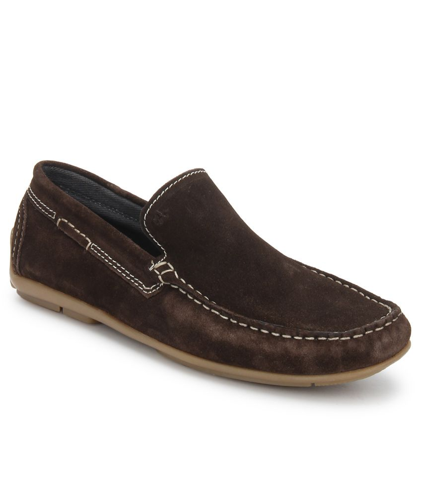 Arrow Brown Loafers